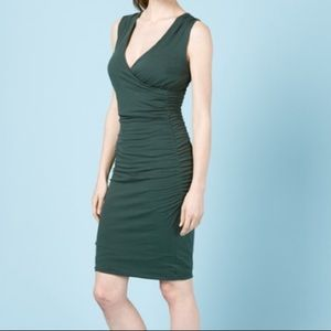 Boden CROSSOVER RUCHED tulip smart day DRESS WW067